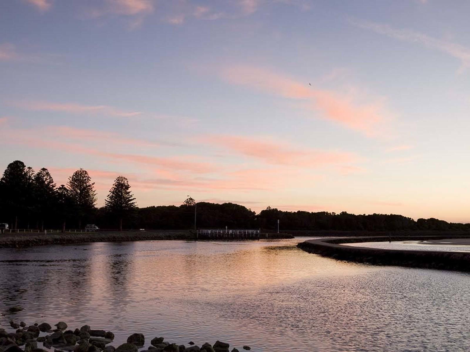 Griffiths Island, Port Fairy, Great Ocean Road, Victoria, Australia