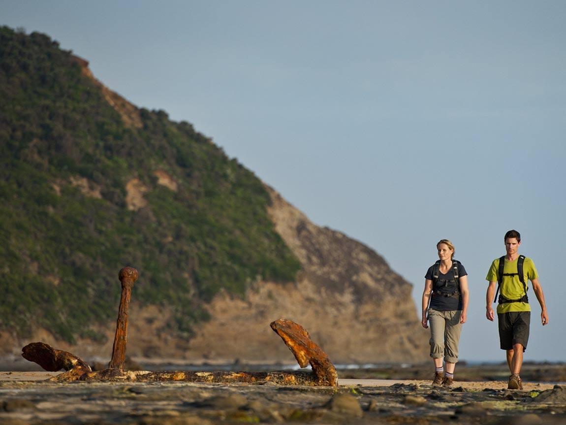 Hiking the Great Ocean Walk, Great Ocean Road, Victoria, Australia
