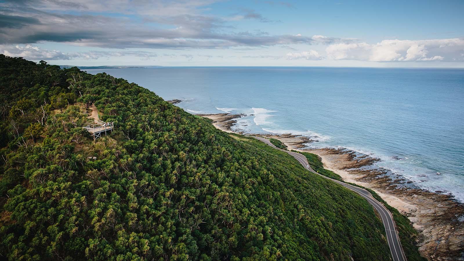 Teddys Lookout, Great Ocean Road, Victoria, Australia