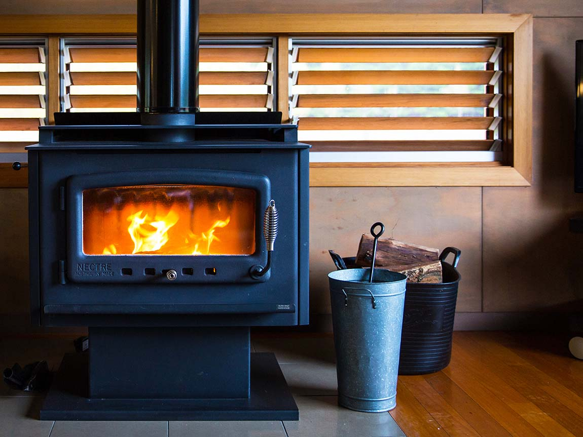 Fireplace, High Country, Victoria, Australia
