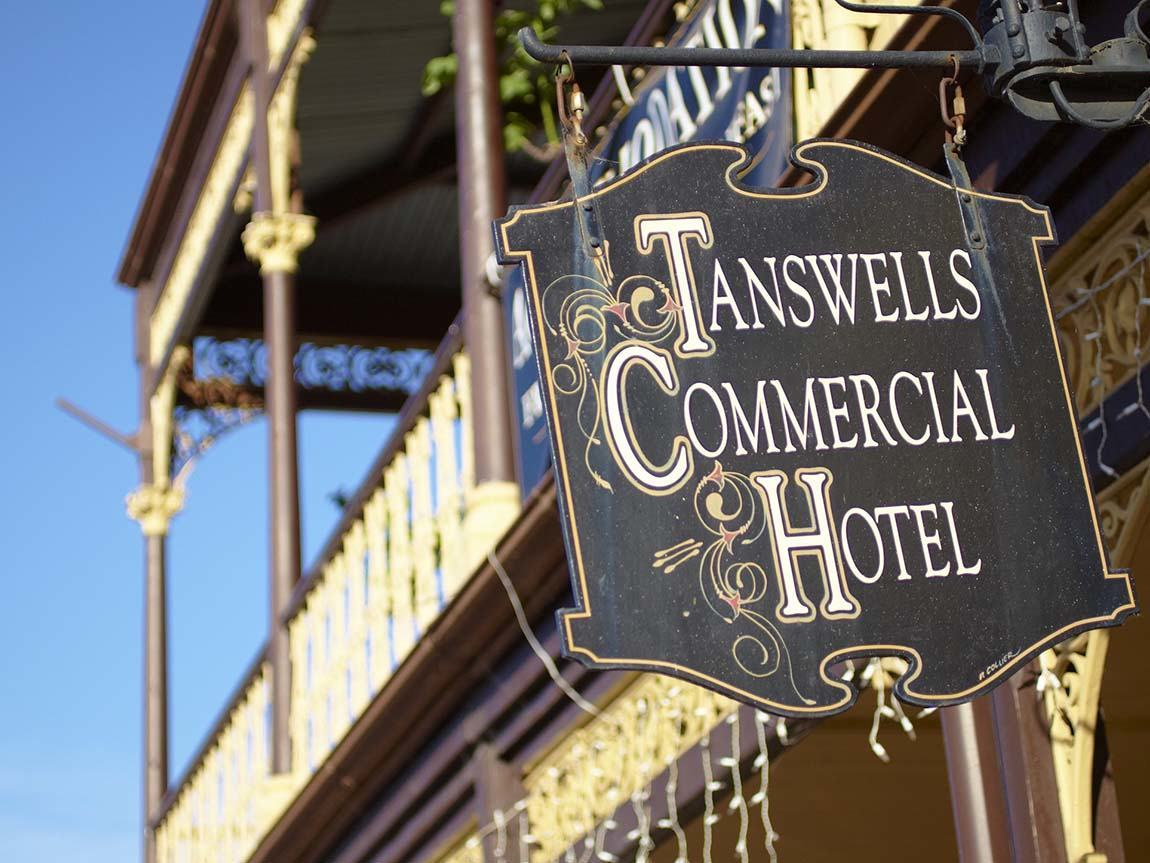 Tanswells Commercial Hotel, Beechworth, High Country, Victoria, Australia