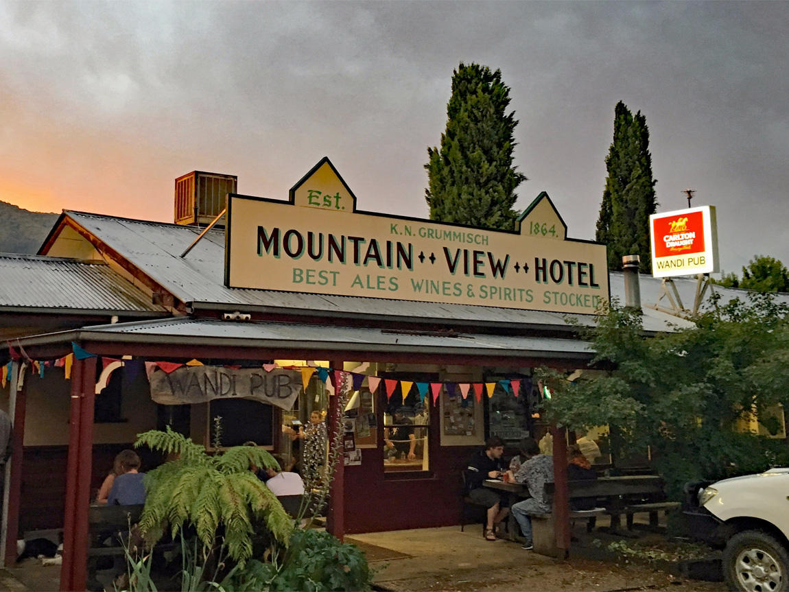 The Wandi Pub, Wandiligong, High Country, Victoria, Australia