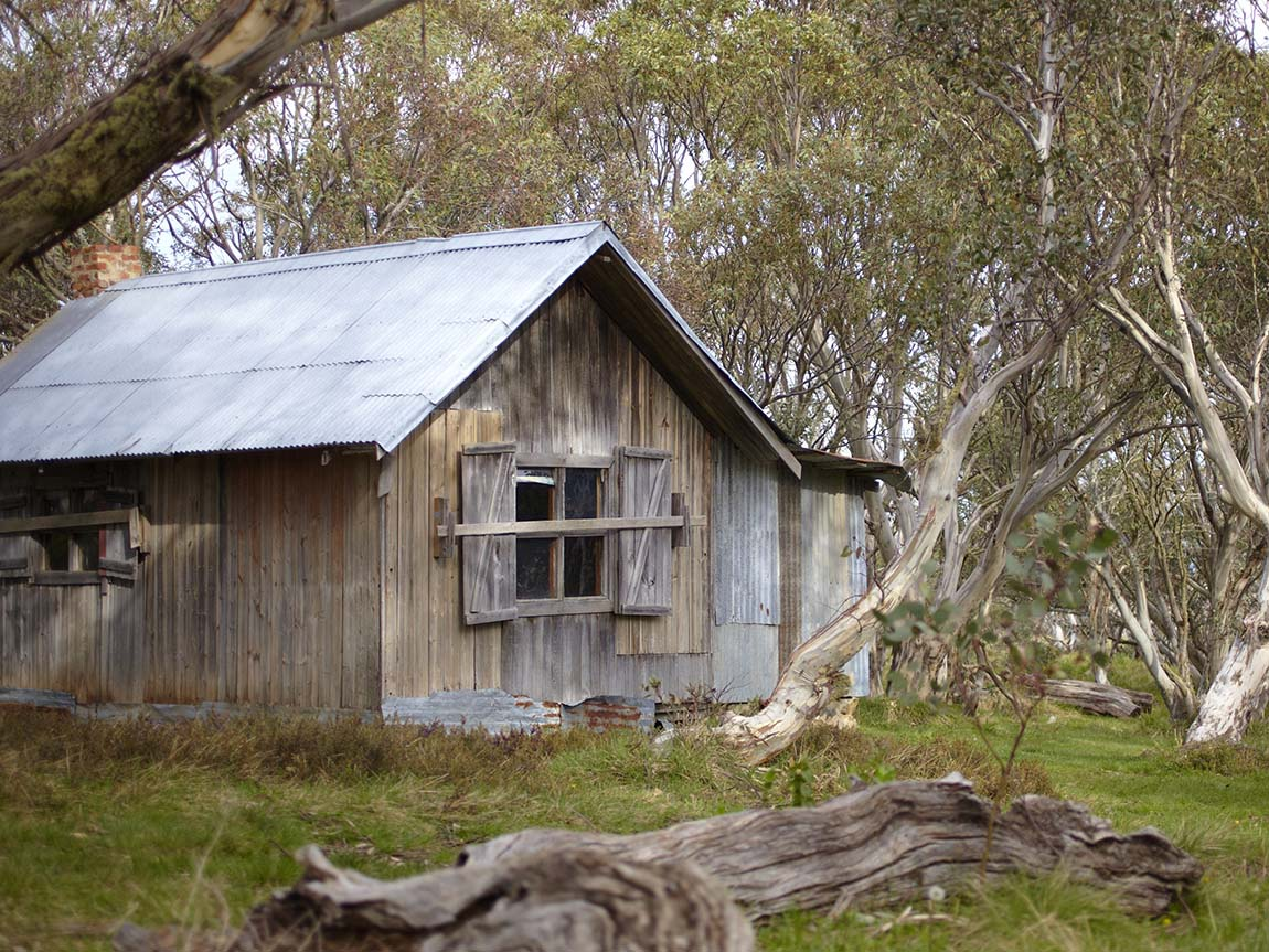 JB Plain Hut, Dinner Plain, High Country, Victoria, Australia