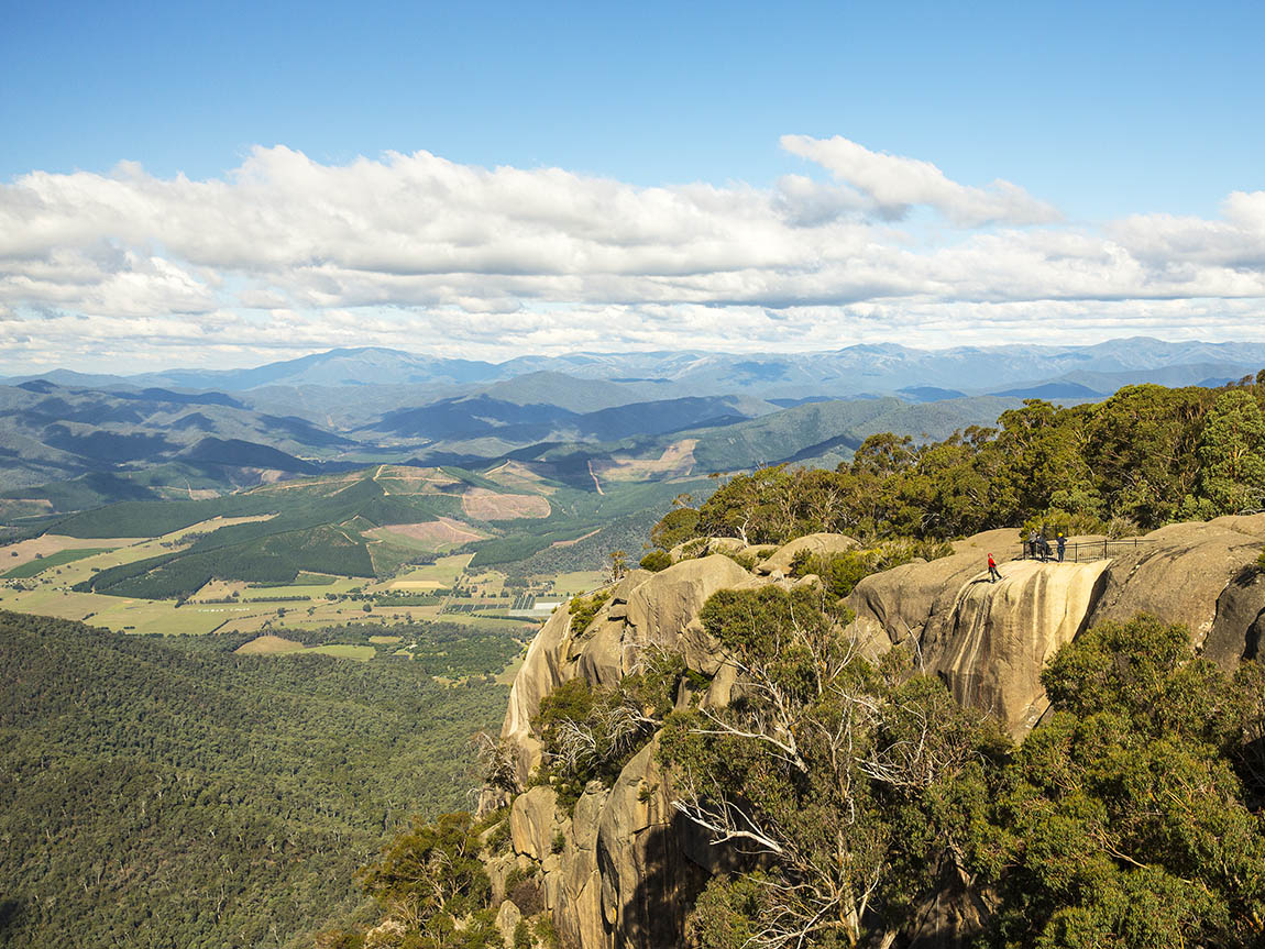 Echo Point Lookout, Mt Buffalo National Park, High Country, Victoria, Australia