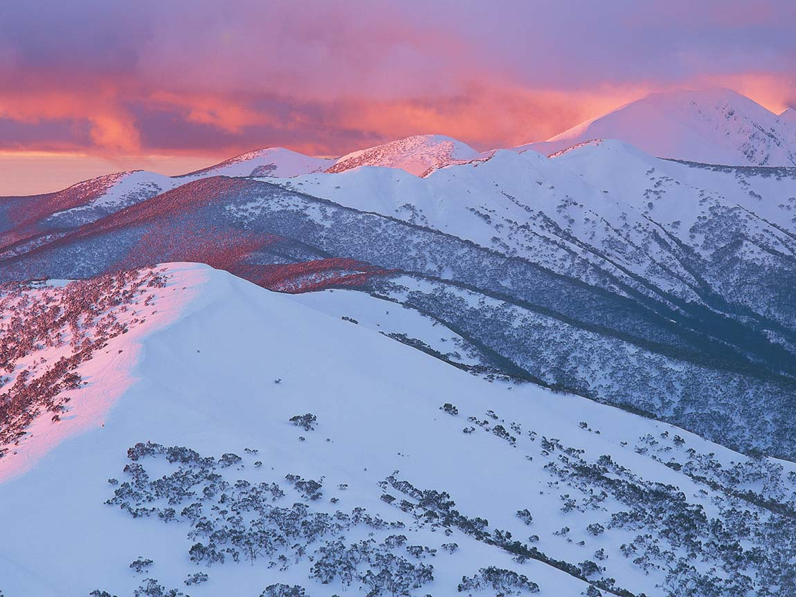 Razorback Ridge, Alpine National Park, High Country, Victoria, Australia