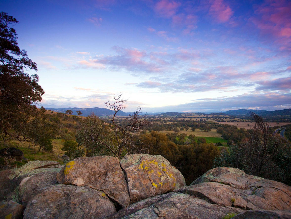 Strathbogie Ranges, High Country, Victoria, Australia