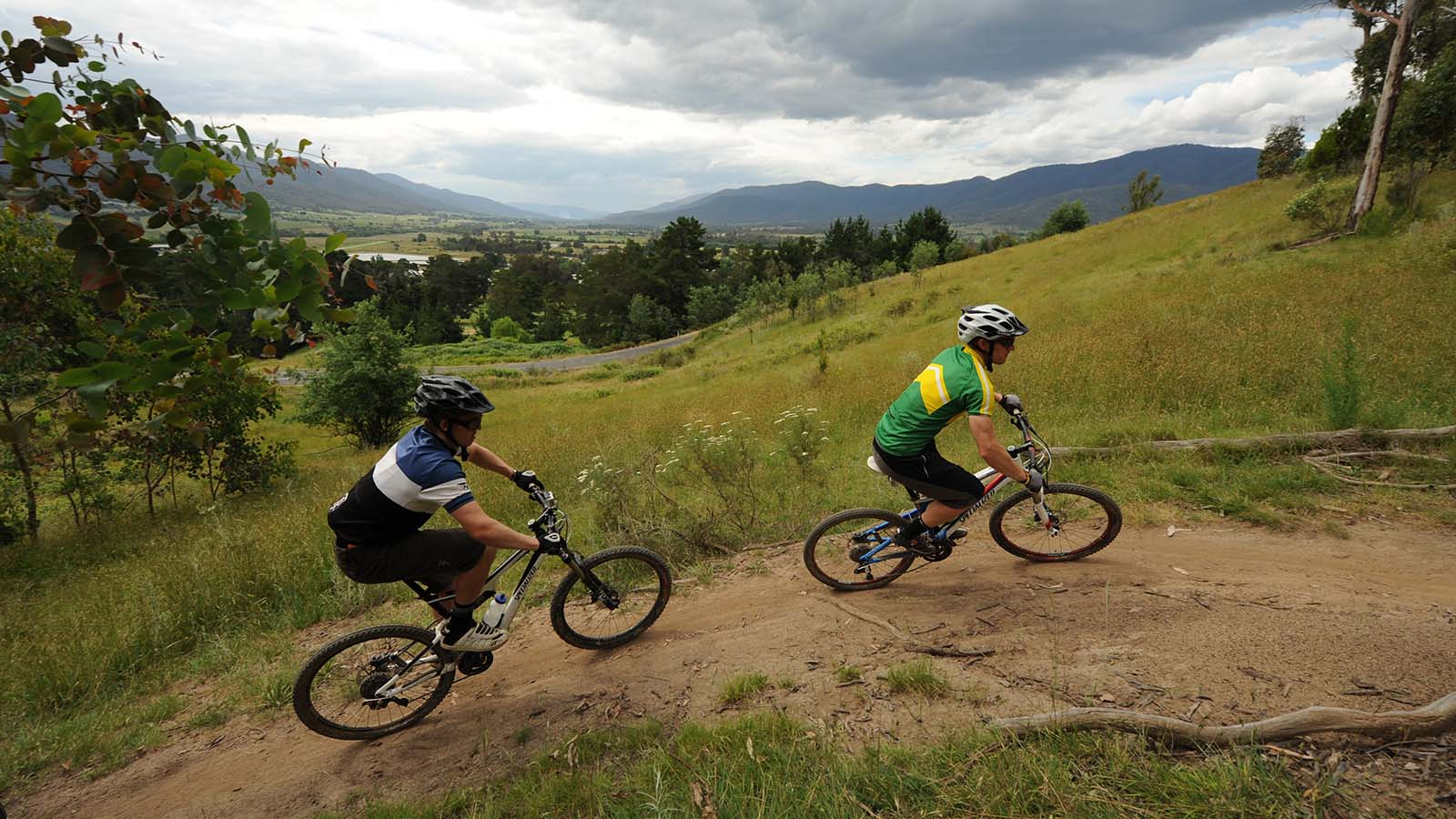 Big Hill Mountain Bike Park, High Country, Victoria, Australia