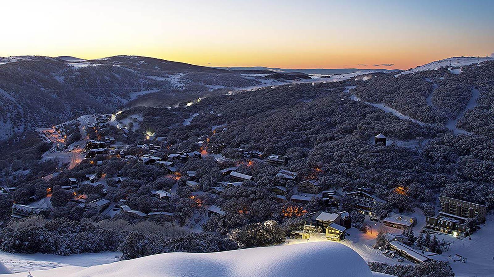 Falls Creek Ski Village, High Country, Victoria, Australia