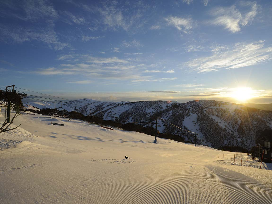Hotham Alpine Resort, High Country, Victoria, Australia