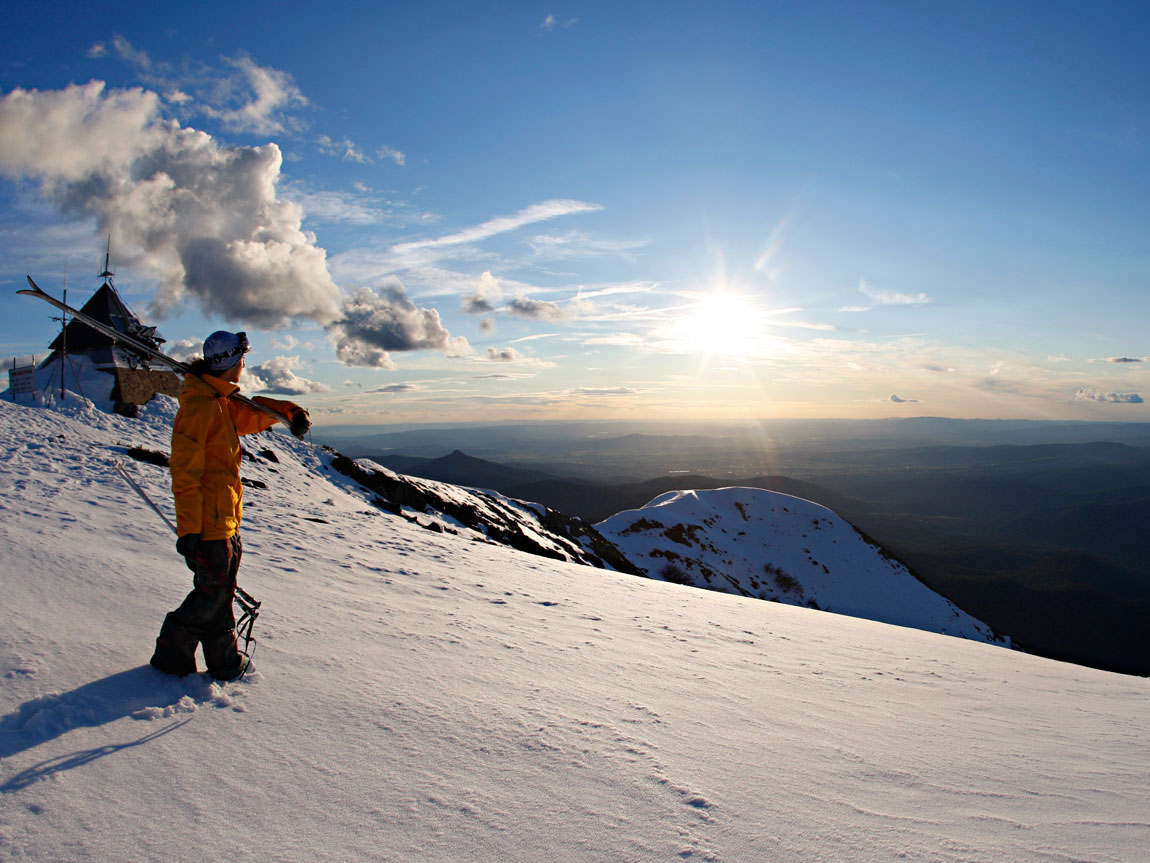 Summit, Mt Buller, High Country, Victoria, Australia. Photo: Tony Harrington