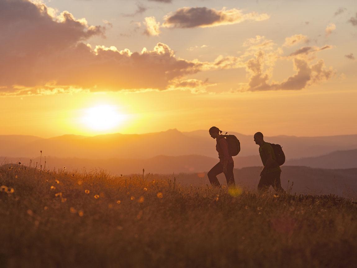 Hiking at Razorback, High Country, Victoria, Australia