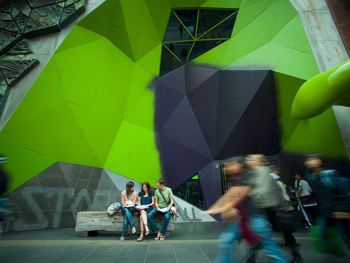 RMIT Storey Hall, photographer Robert Blackburn