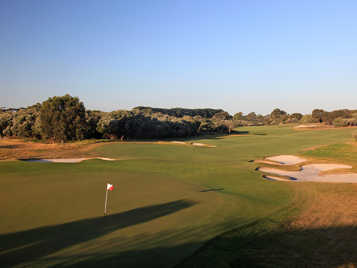 Royal Melbourne golf course West