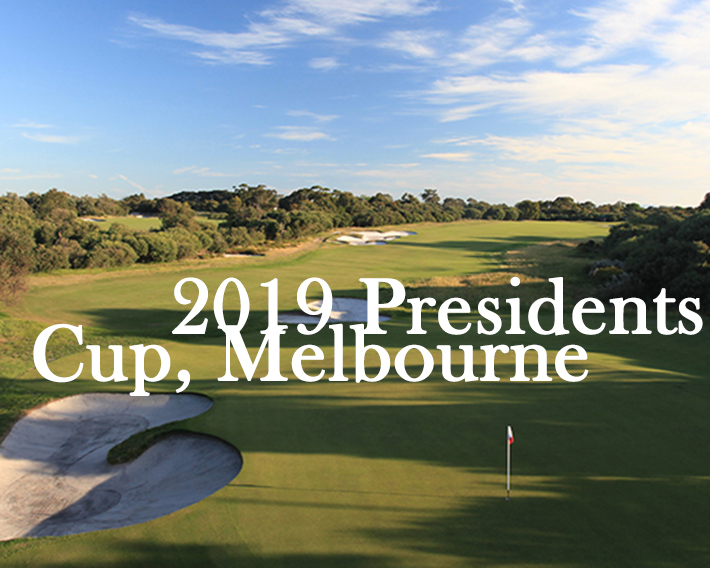 Presidents Cup Royal Melbourne golf club