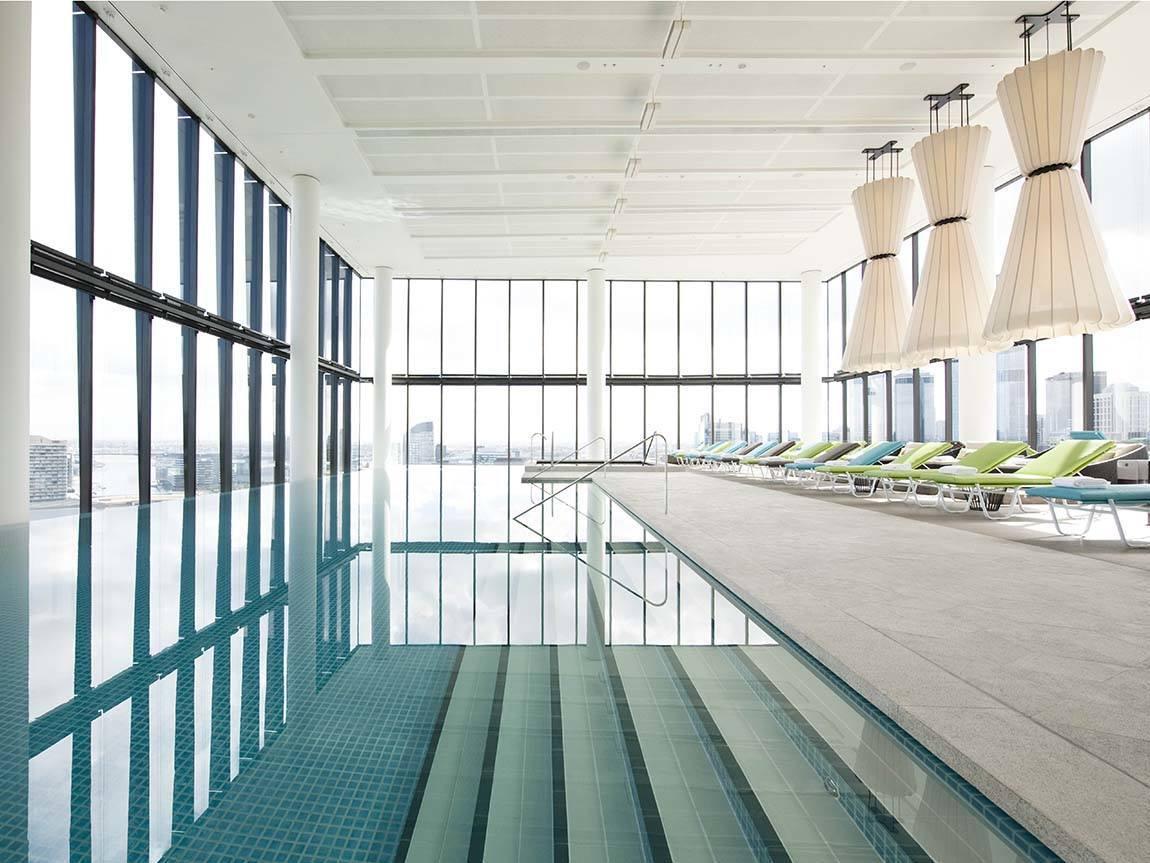 Pool at Crown Metropol, Melbourne, Victoria, Australia