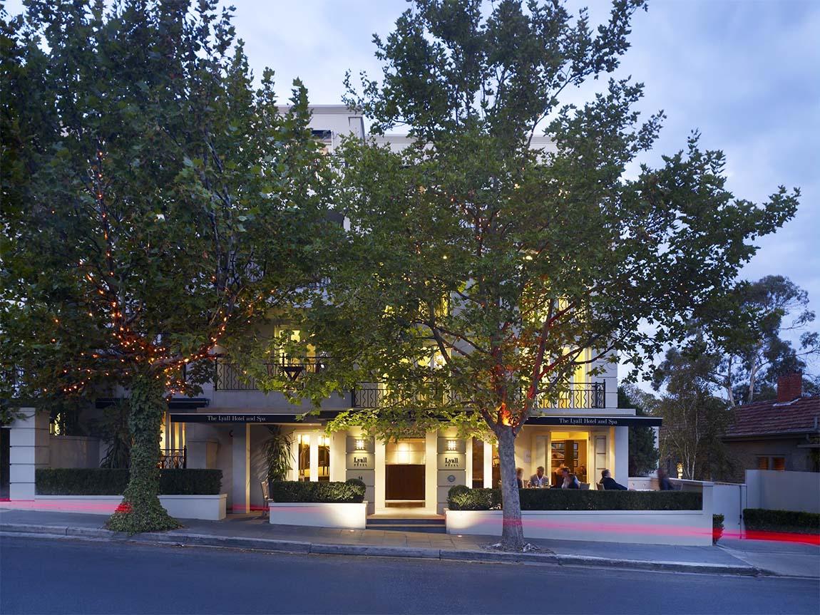 Lyall Hotel and Spa, Melbourne Victoria, Australia