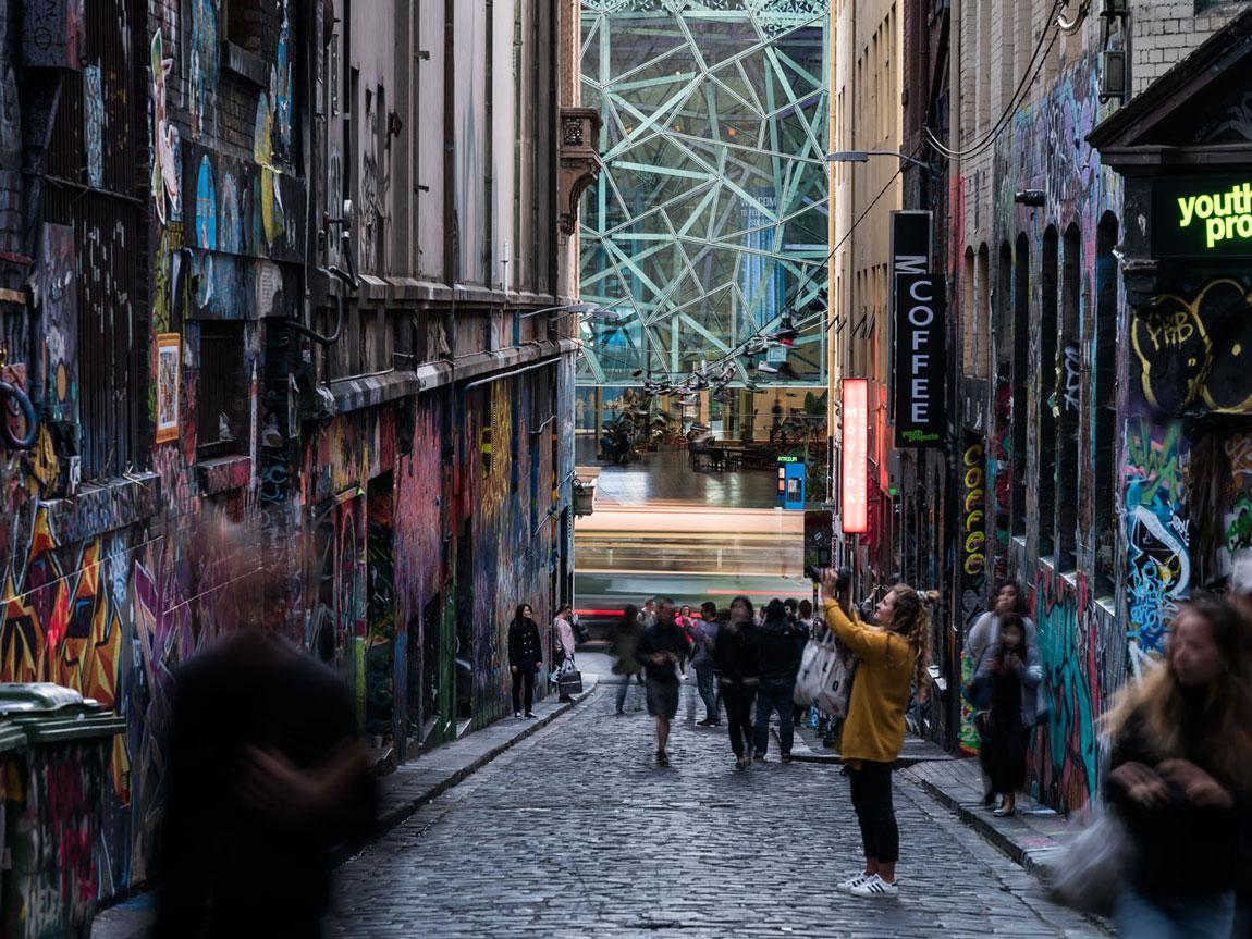 Rankins Lane, Melbourne, Victoria, Australia