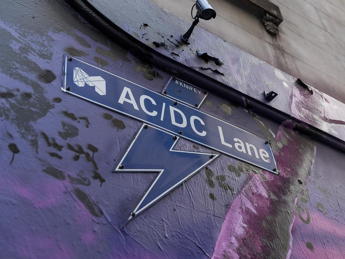 ACDC Lane, Melbourne, Victoria, Australia. Photo: Robert Blackburn