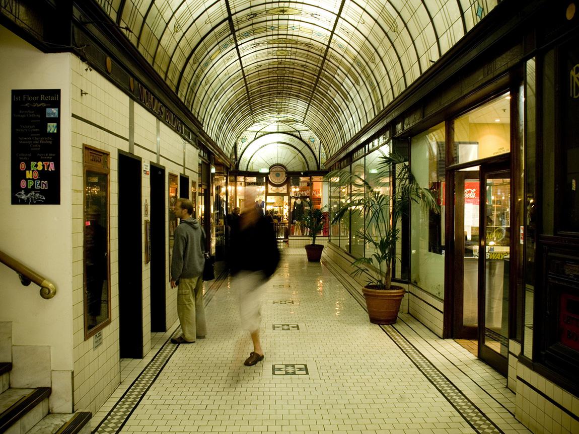 Cathedral Arcade, Melbourne, Victoria, Australia