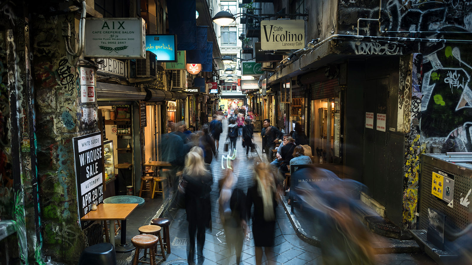 Centre Place, Melbourne, Victoria, Australia. Photo: Robert Blackburn