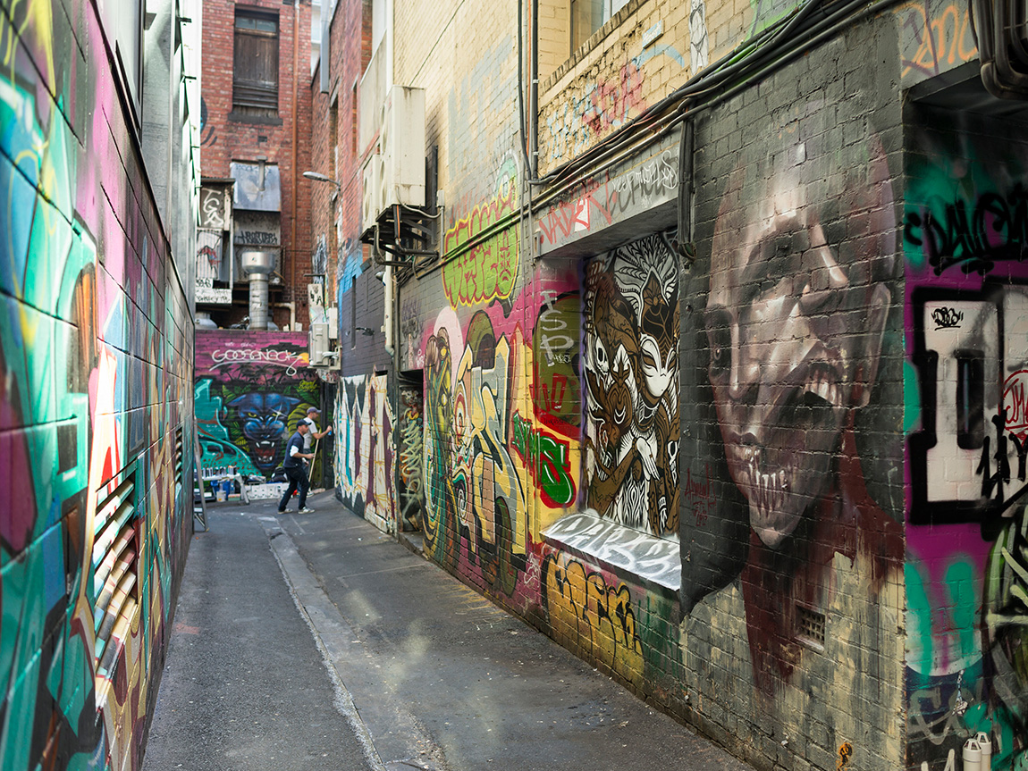 Croft Lane, Melbourne, Victoria, Australia. Photo: Robert Blackburn