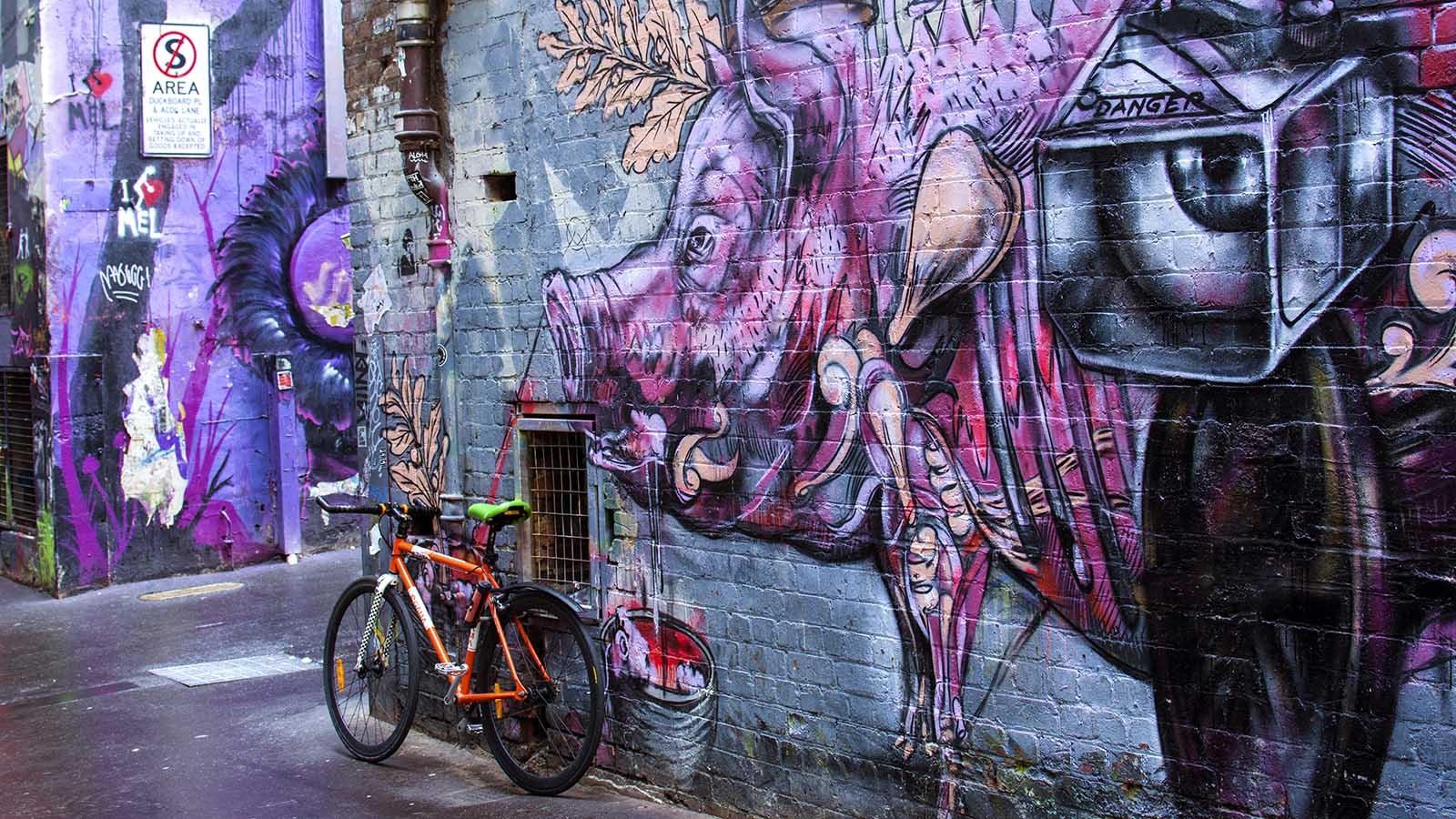 Duckboard Place, Melbourne, Victoria, Australia