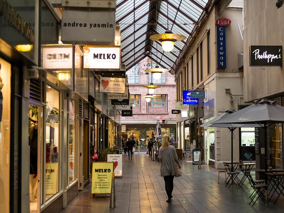 Howey Place, Melbourne, Victoria, Australia