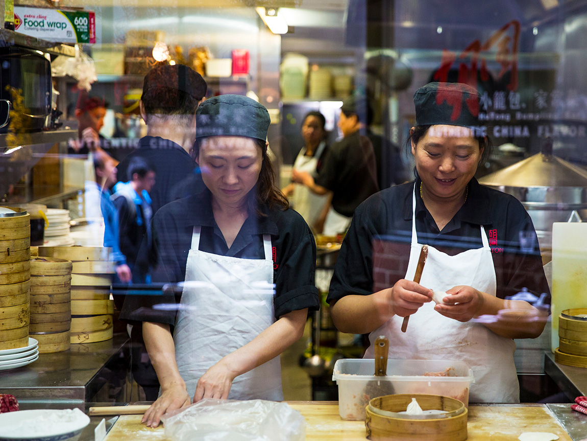 Hu Tong Dumpling Bar, Melbourne, Victoria, Australia. Photo: Josie Withers Photography