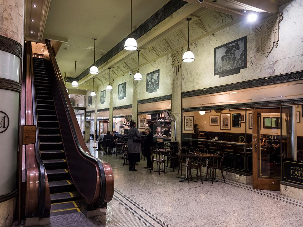 Manchester Unity Arcade, Melbourne, Victoria, Australia. Photo: Robert Blackburn