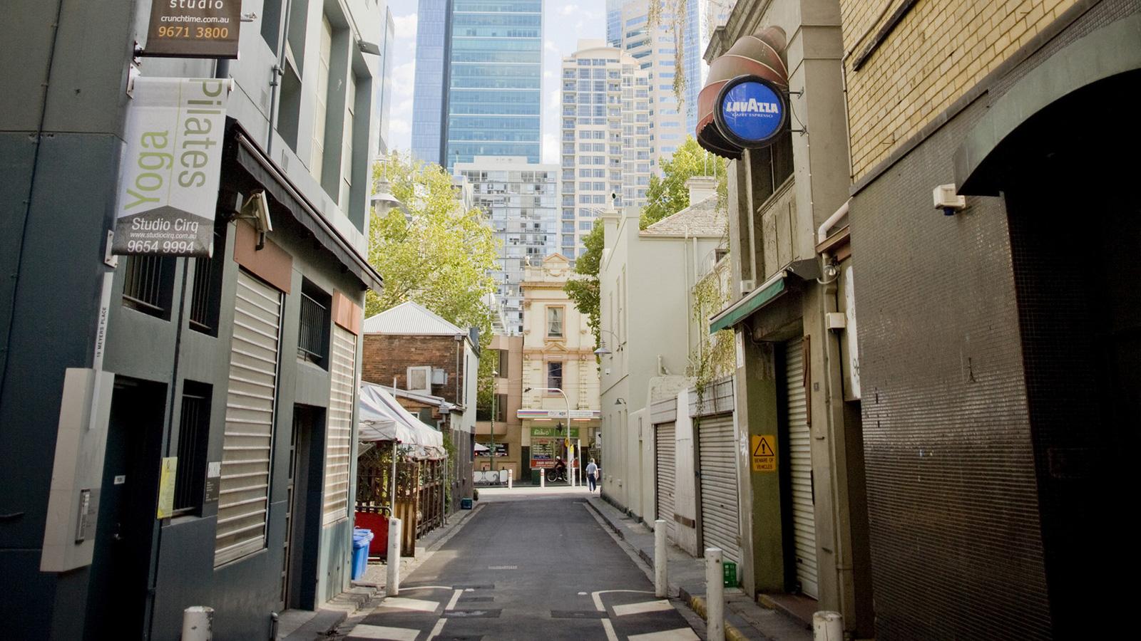 Meyers Place, Melbourne, Victoria, Australia. Photo: Mark Chew