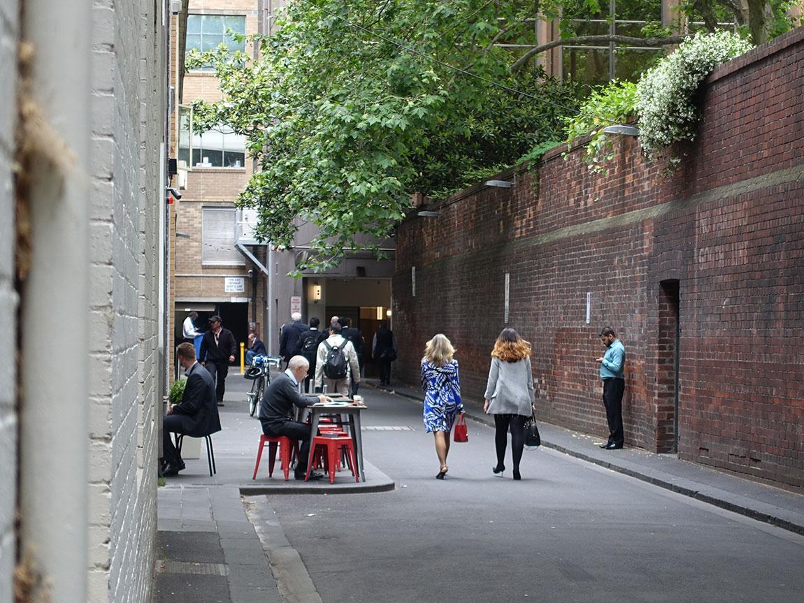Ridgway Place, Melbourne, Victoria, Australia