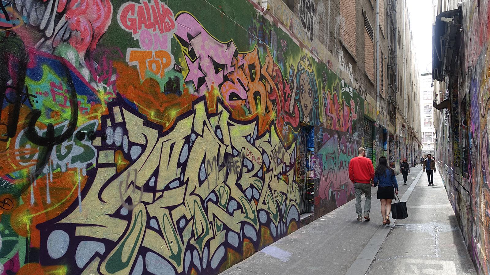 Union Lane, Melbourne, Victoria, Australia