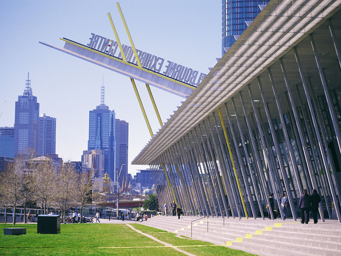 Melbourne Convention and Exhibition Centre. Photo: Peter Dunphy.