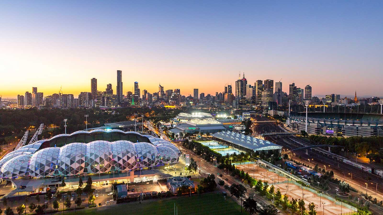 Melbourne Park, Melbourne, Victoria, Australia