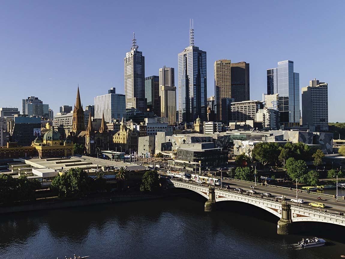 City skyline, Melbourne, Victoria, Australia