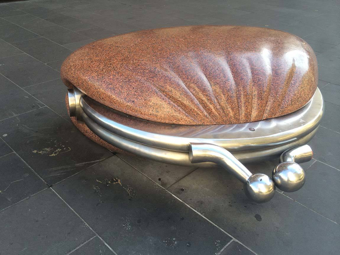 The Public Purse by Simon Perry, Bourke Street Mall, Melbourne, Victoria, Australia