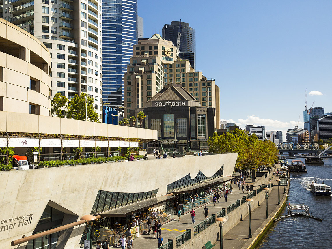 Southbank, Melbourne, Victoria. Photo: Josie Withers.