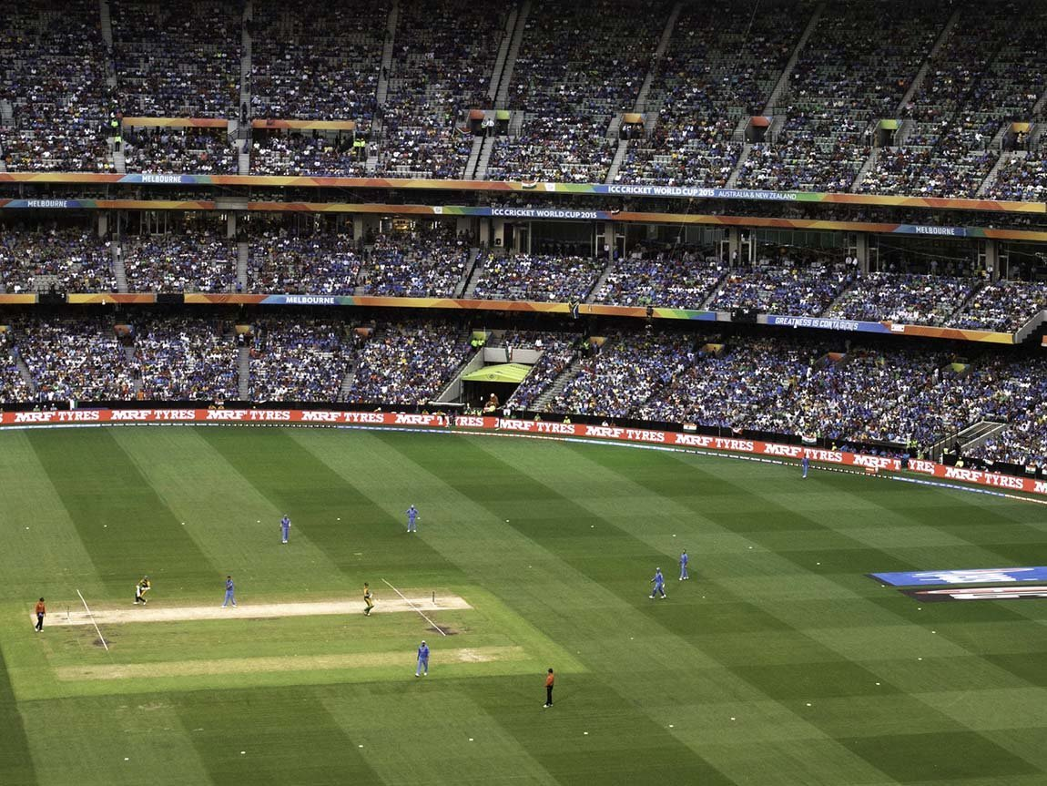 Cricket World Cup at the MCG, Melbourne, Victoria, Australia