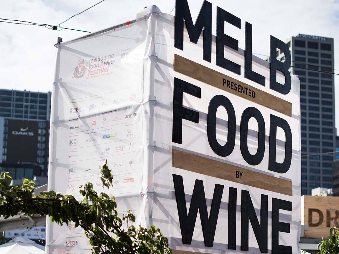 Melbourne Food and Wine Festival, Melbourne, Victoria, Australia