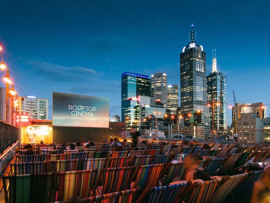 Rooftop Cinema, Melbourne, Victoria, Australia