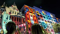 White Night, Melbourne, Victoria, Australia