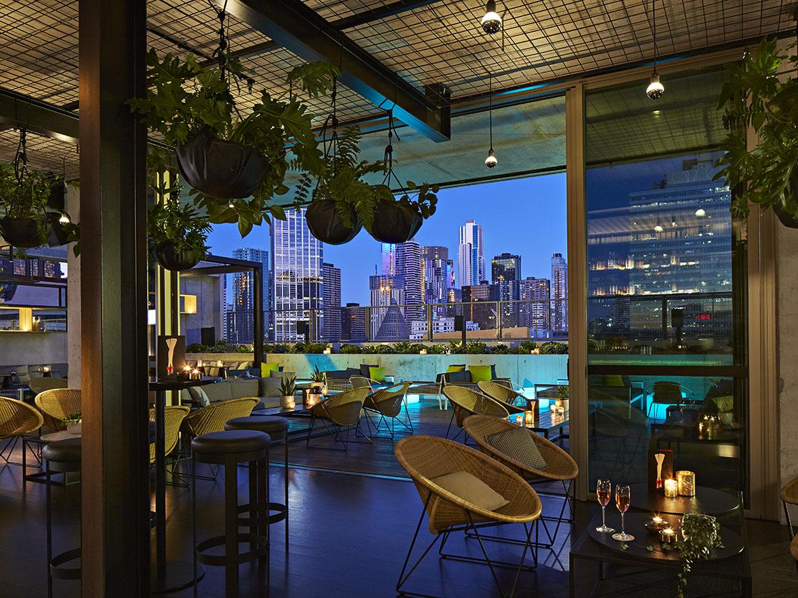 Rooftop at QT, Melbourne, Victoria, Australia