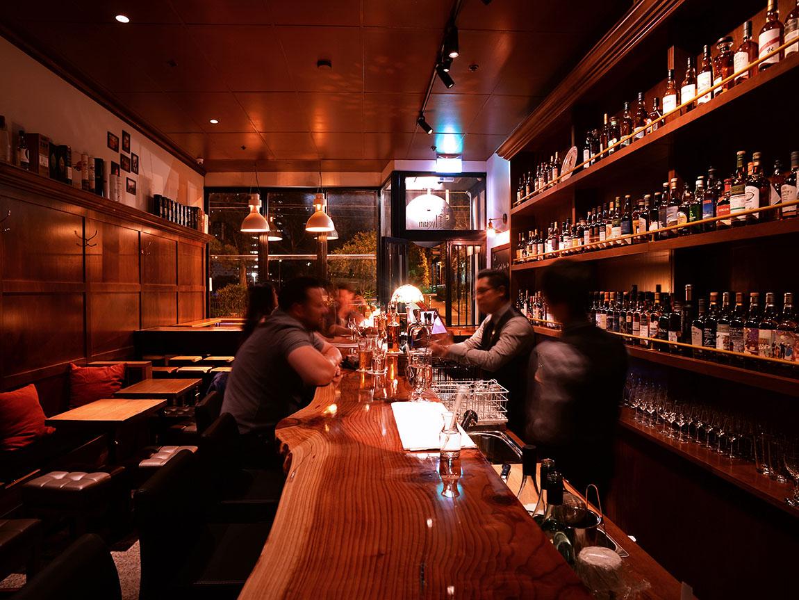 The Elysian Whisky Bar, Melbourne, Victoria, Australia. Credit: James Neilson
