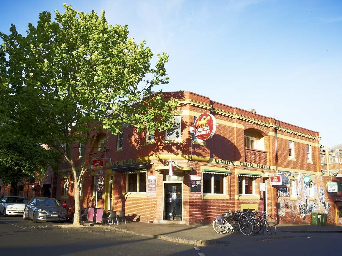 Union Club Hotel, Fitzroy, Melbourne, Victoria, Australia