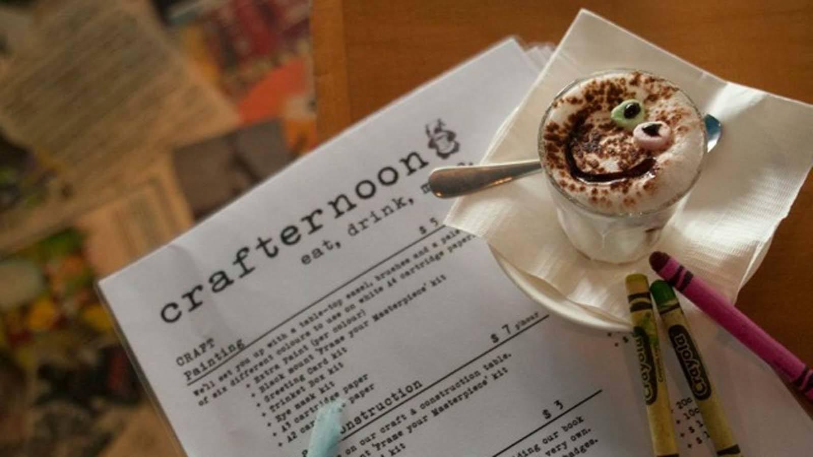 Crafternoon Cafe, Carlton North, Victoria, Australia