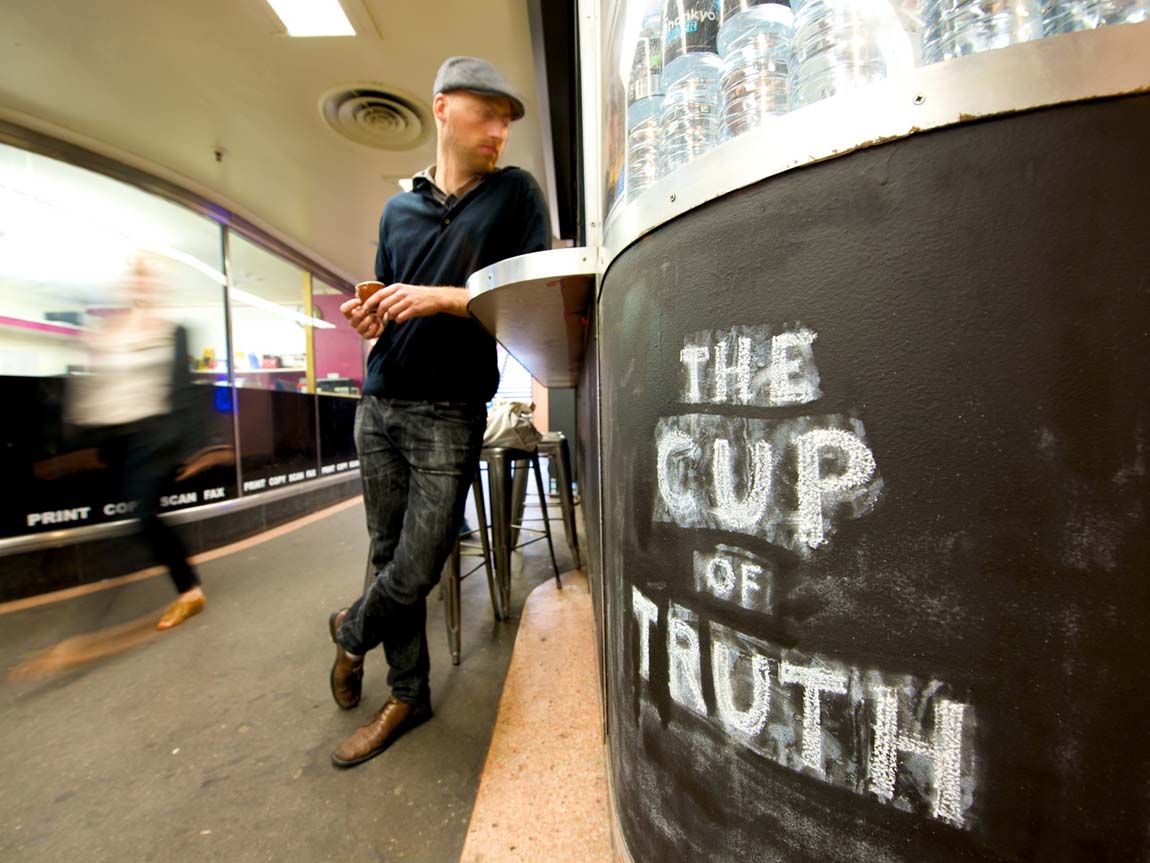 Cup of Truth, Melbourne, Victoria, Australia