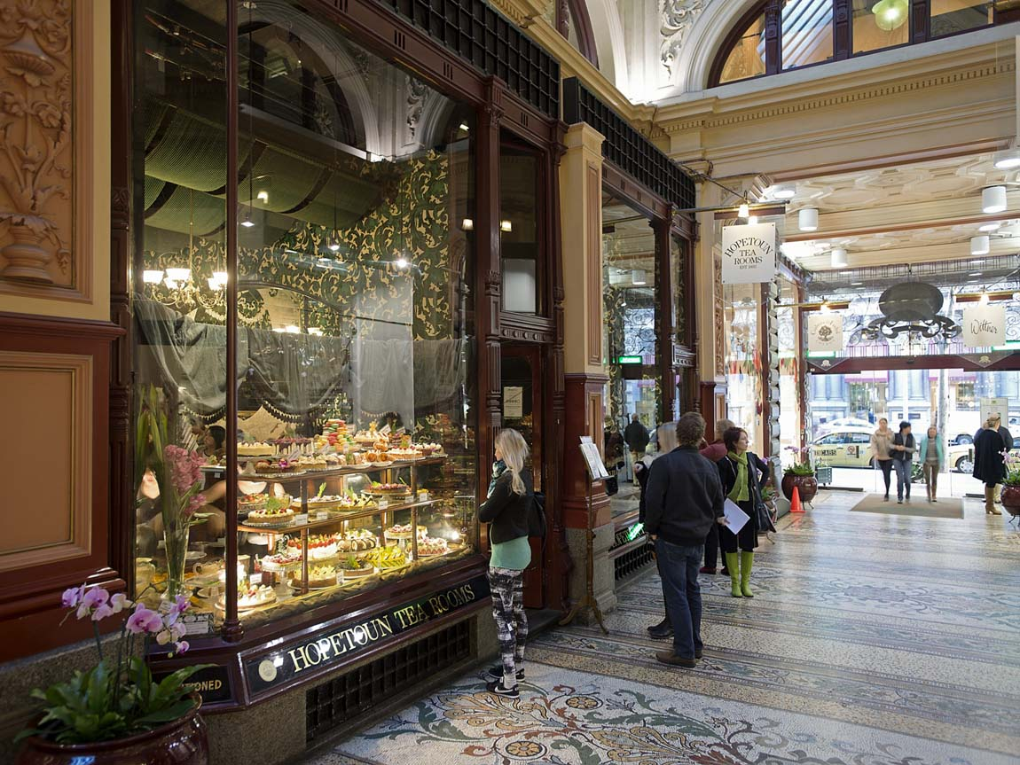 Hopetoun Tea Rooms, Melbourne, Victoria, Australia