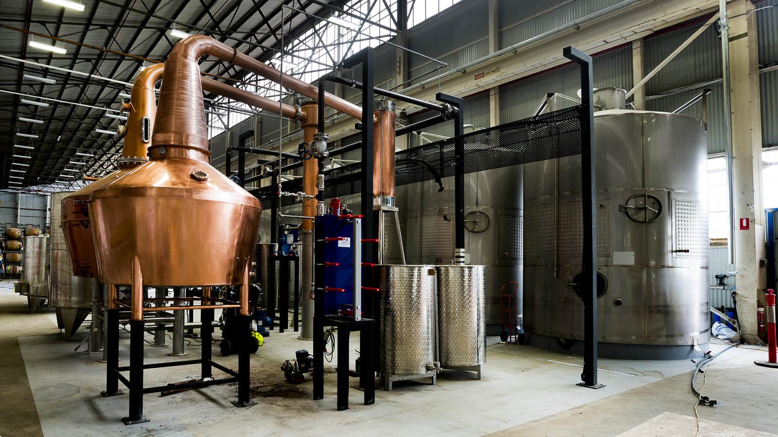 Starward Distilllery, Melbourne, Victoria, Australia