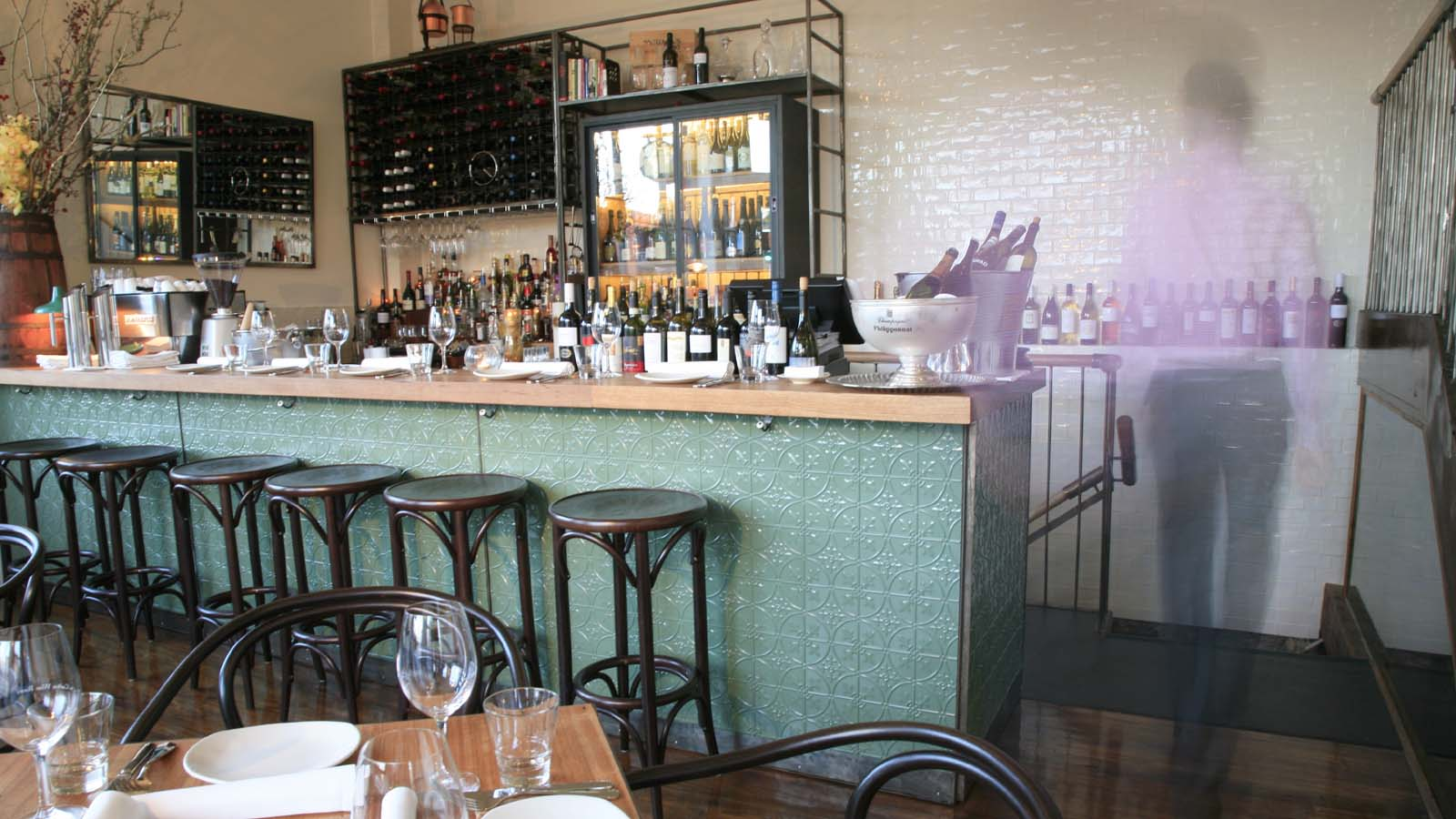 Carlton Wine Room, Carlton, Melbourne, Victoria, Australia. Photo: Jo Gamvros