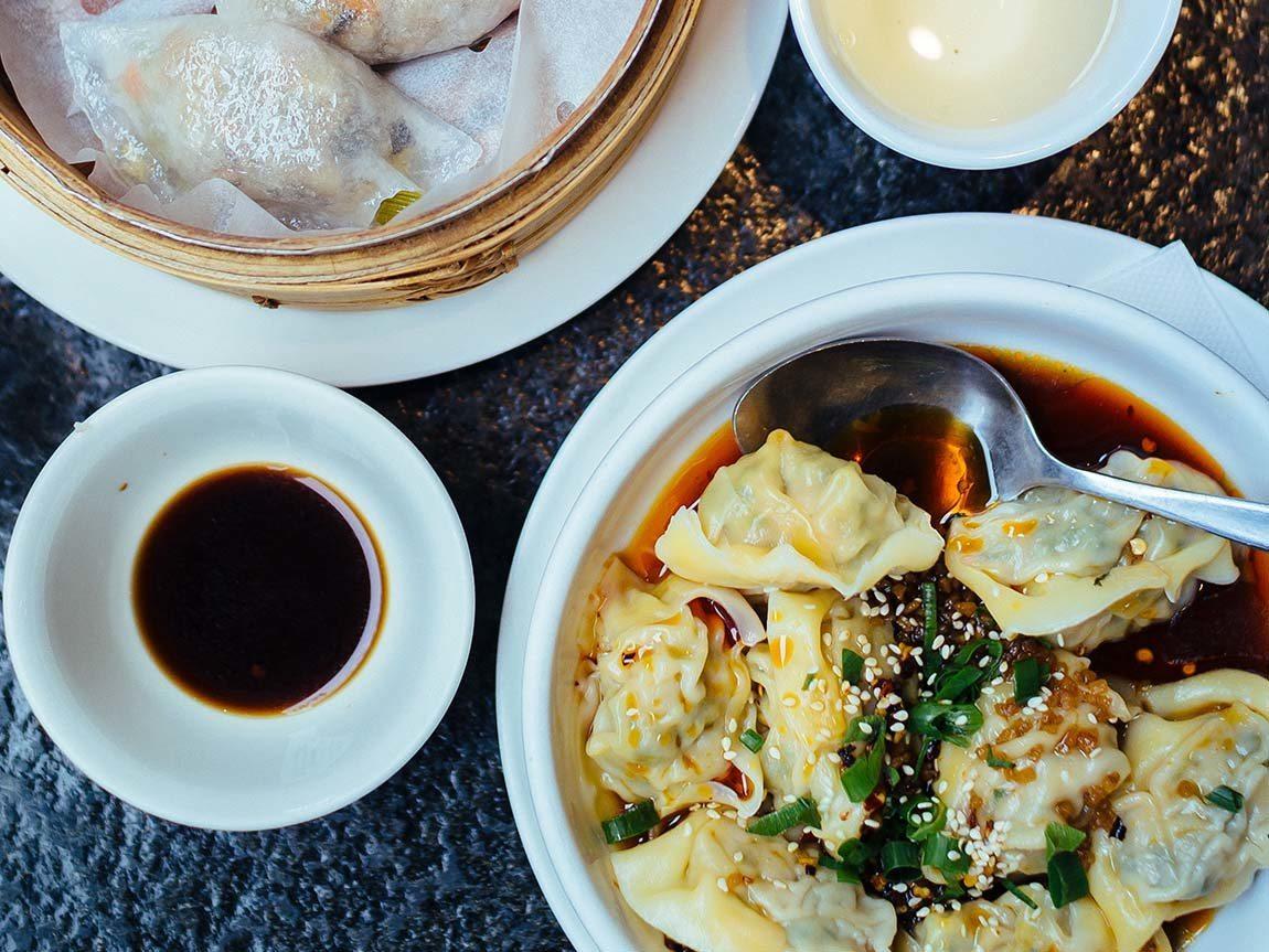 Dumplings, Melbourne, Victoria, Australia